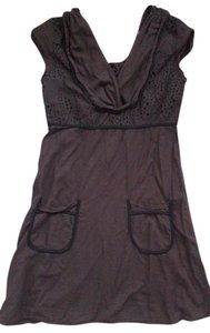 Rebecca Beeson short dress Brown on Tradesy