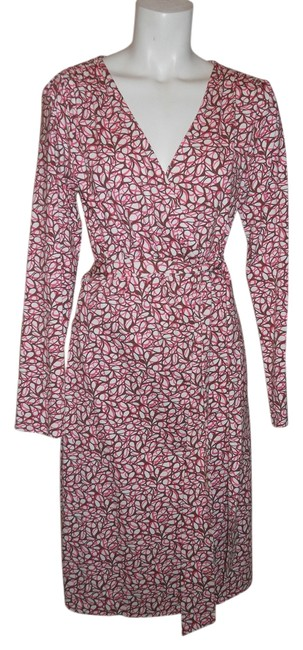 Preload https://img-static.tradesy.com/item/4190569/bigio-pink-brown-and-white-collection-knit-wrap-mid-length-workoffice-dress-size-10-m-0-0-650-650.jpg