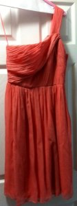 J.Crew Pink Silk Lucienne Feminine Bridesmaid/Mob Dress Size 2 (XS)
