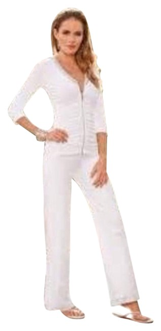 Boston Proper Embellished 2pc Terry warm up suit