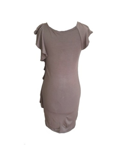 Ella Moss short dress Taupe on Tradesy