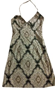 H&M short dress Grey Black Designed on Tradesy