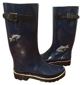 Kate Spade Rainboots Wellies Rainboots Rain Rain Navy Blue Boots