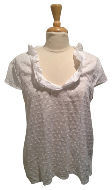 Preload https://img-static.tradesy.com/item/4191751/talbots-white-sleeve-cotton-with-appliques-large-tee-shirt-size-12-l-0-0-650-650.jpg