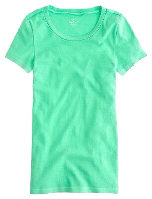 Preload https://item3.tradesy.com/images/jcrew-mint-green-the-perfect-fit-tee-shirt-size-12-l-4191952-0-0.jpg?width=400&height=650