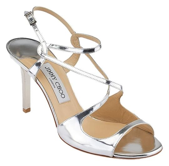 Preload https://item3.tradesy.com/images/jimmy-choo-silver-women-s-paxton-mirror-leather-sandals-size-us-85-4192252-0-0.jpg?width=440&height=440