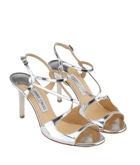 Jimmy Choo New Silver Sandals