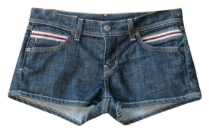 Citizens of Humanity Mini Denim Cape Cod Mini/Short Shorts blue
