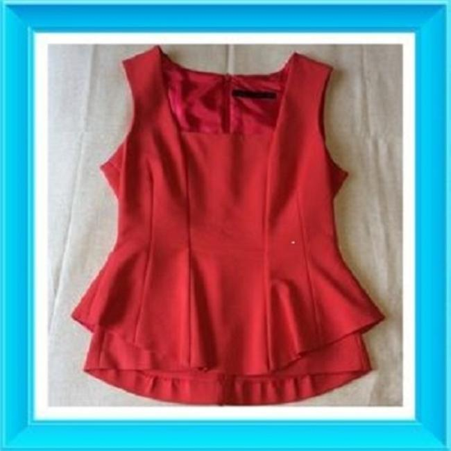 Preload https://item3.tradesy.com/images/zara-red-peplum-night-out-top-size-8-m-4192882-0-0.jpg?width=400&height=650