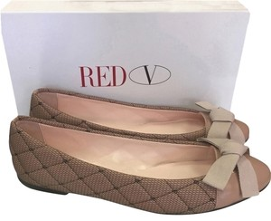 RED Valentino 10 40.5 Ballet Nude Flats