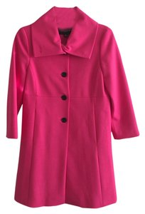 Ann Taylor Button Front 3/4 Sleeve Coat