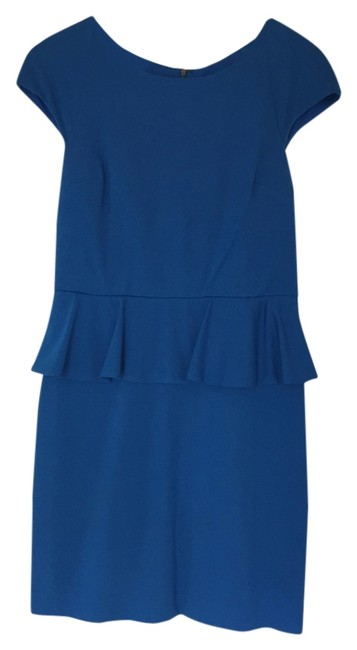 Preload https://item5.tradesy.com/images/express-blue-knee-length-workoffice-dress-size-10-m-4193344-0-0.jpg?width=400&height=650