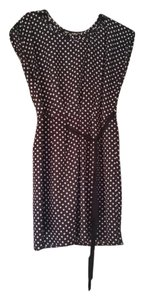 BeBop short dress polka dot black and white Short Eyelet on Tradesy