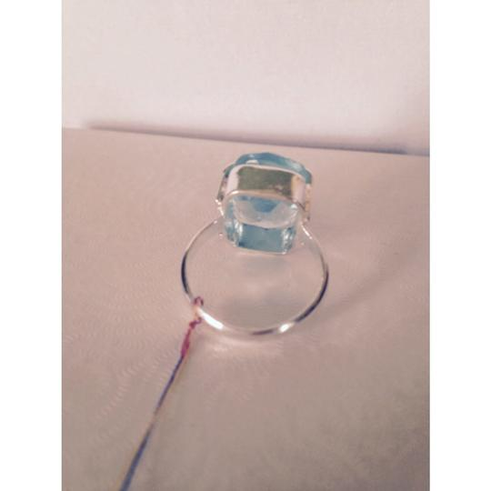 Other Embellished by Leecia Blue Topaz In Sterling Ring, Size 7