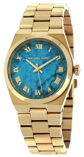 Preload https://item2.tradesy.com/images/michael-kors-michael-kors-women-s-channing-gold-tone-stainless-steel-bracelet-watch-38mm-mk5894-4194616-0-0.jpg?width=440&height=440