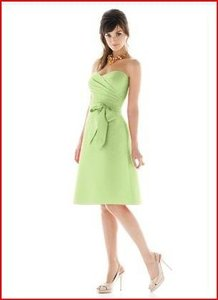 Alfred Sung Pistachio D445 Dress