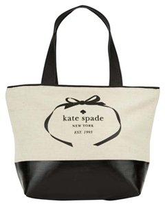 Kate Spade Tote in Natural/Black