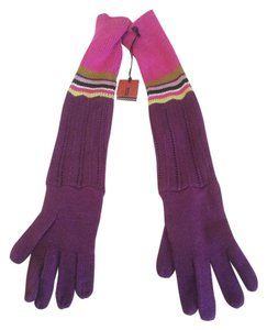 Missoni for Target Missoni For Target Chevron Long Gloves in Purple