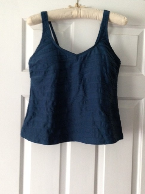 Lands' End Texture Tankini Top