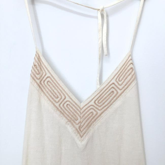 cream Maxi Dress by Other