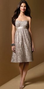 Alfred Angelo Cafe Style 7012 Dress