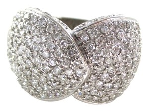 Other 18K SOLID WHITE GOLD 208 GENUINE DIAMONDS 2.25 CARAT 13.2 GRAMS RING WEDDING