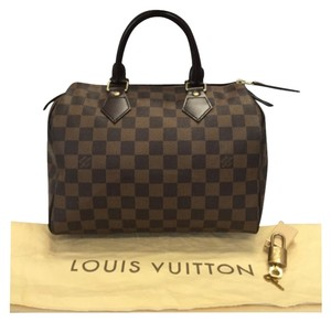Louis Vuitton Artsy Mm Gm Pallas Eva Satchel in Damier Ebene