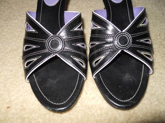 Cole Haan black & white Sandals
