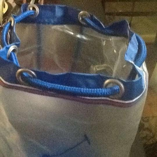 Polo Ralph Lauren Designer Tote in Red/Blue/Trim