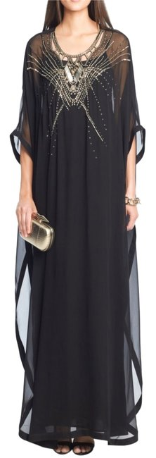 Preload https://item5.tradesy.com/images/diane-von-furstenberg-silk-clare-beaded-kaftan-maxi-black-xs-s-long-night-out-dress-size-2-xs-4197214-0-0.jpg?width=400&height=650