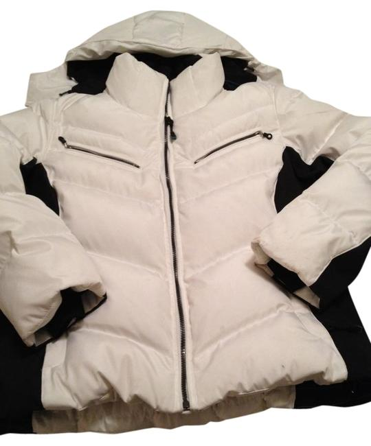 Item - White and Black Tech Ready Coat Size 14 (L)