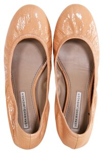 Vera Wang Lavender Label Nude Patent Flats