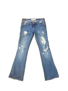 Hollister Boot Cut Jeans-Distressed