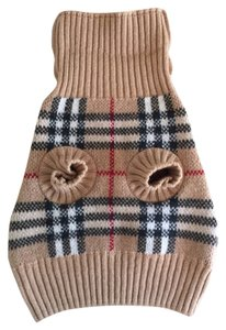 Burberry Burberry Signature Plaid Wool Dog Sweater - Small