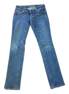 American Eagle Outfitters Rocker Skinny Jeans-Medium Wash