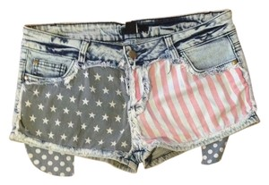 Forever 21 Denim Shorts-Acid
