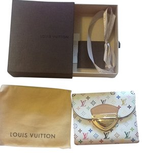 Louis Vuitton Louis Vuitton Multicolore Blanc Joey Wallet