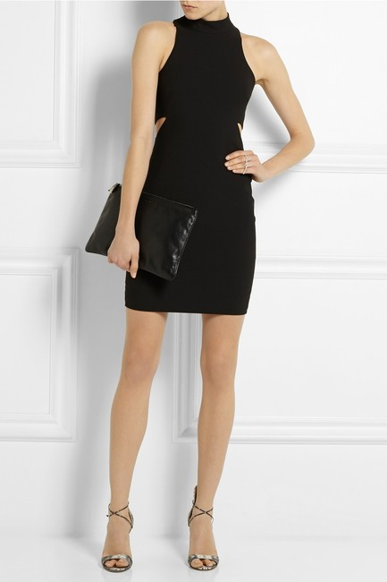Elizabeth and James Bodycon Racer-back Stretchy Cut-out Sheath Dress