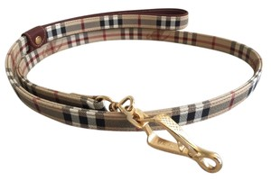 Burberry Burberry Signature Haymarket Check Dog Leash