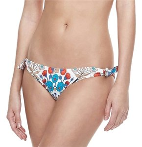 Marc by Marc Jacobs MARC BY MARC JACOBS NEW White Side Tie Floral Print Swim Bottom Separates