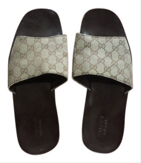 Preload https://item1.tradesy.com/images/gucci-brown-gg-monogram-sandals-4198915-0-0.jpg?width=440&height=440