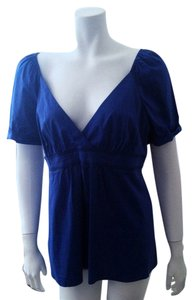 BCBGMAXAZRIA Bcbg Bcbg Max Azria Top Royal Blue