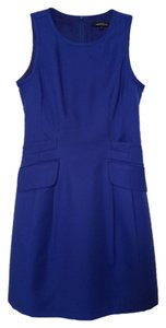 Nanette Lepore Royal Fit And Flare Pocket A-line Dress