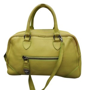 Marc Jacobs Satchel in lime green