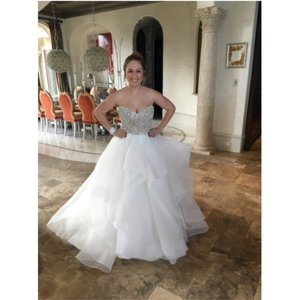 Hayley Paige Josie (6453) Bodice And Dori (6413) Skirt Wedding Dress