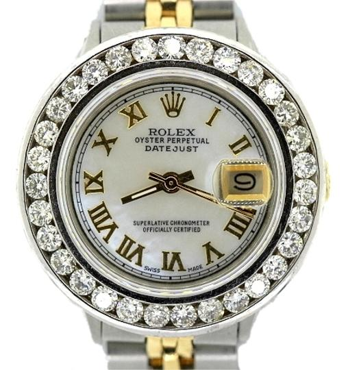 Preload https://item5.tradesy.com/images/rolex-ladies-datejust-2-tone-diamond-watch-4199644-0-0.jpg?width=440&height=440