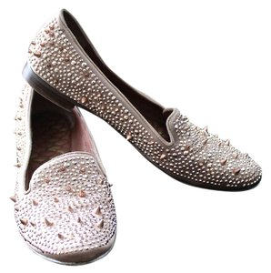 Sam Edelman Spiked Rose Gold Flats