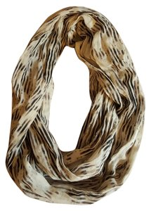 BDG Woven Pinstriped Eternity Scarf