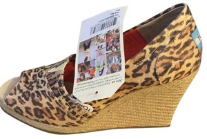 TOMS Light brown Wedges