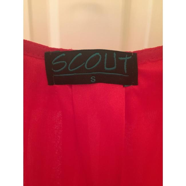 Scout short dress Red on Tradesy